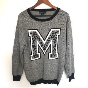 Forever 21 M grey sweater